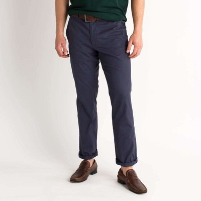 Duck Head Duck Head Green Badge Chino - Navy