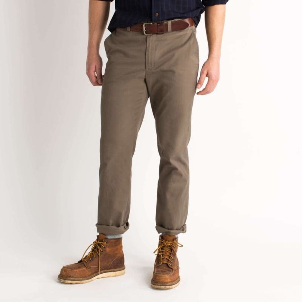 Duck Head Duck Head Green Badge Chino (Taupe)