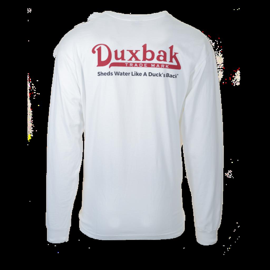 Duxbak Duxbak Vintage Logo Long Sleeve Tee
