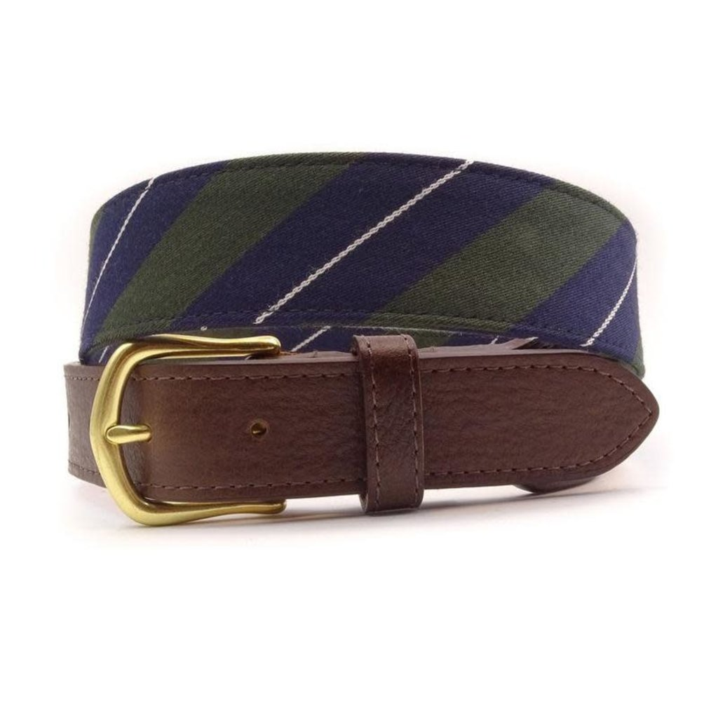 F.H. Wadsworth FH Wadsworth Leather Belt - Bayou
