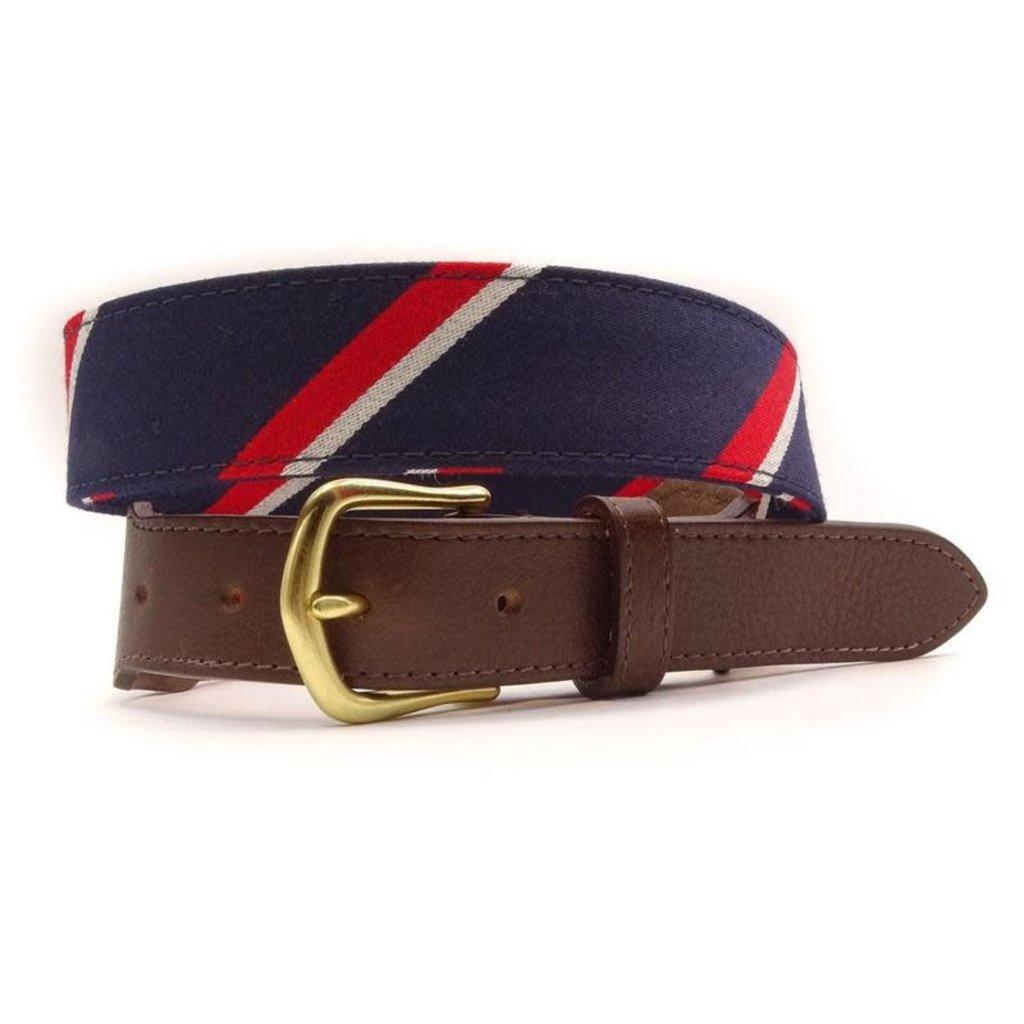 F.H. Wadsworth FH Wadsworth Leather Belt - Jefferson