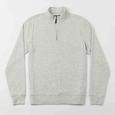 Oxford Clothing Co. Oxford Clothing Co. Crawford 1/4-Zip Pullover - High Rise Heather