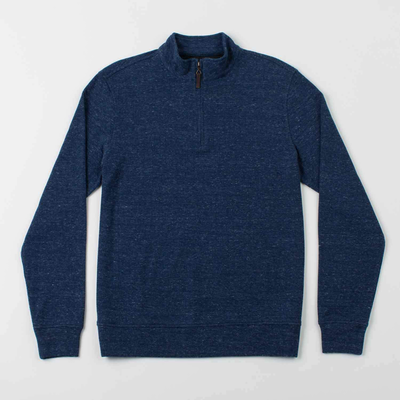 Oxford Clothing Co. Oxford Clothing Co. Crawford 1/4-Zip Pullover - Indigo Heather