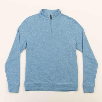 Oxford Clothing Co. Oxford Clothing Co. Crawford 1/4-Zip Pullover - Vallarta Blue Heather