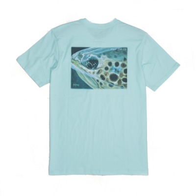 Flood Tide Co. Flood Tide Co. Brown Trout Short Sleeve Tee