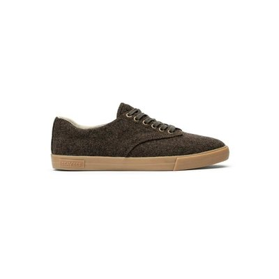 SeaVees SeaVees Hermosa Plimsoll Grayers Shoe - Dark Earth Flannel