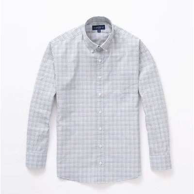 The Sporting Gent TSG Button Down Shirt - Blue & Grey