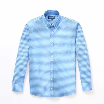 The Sporting Gent TSG Button Down Shirt - Carolina & Blue