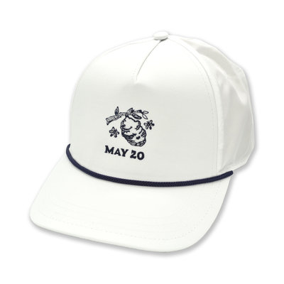 The Sporting Gent Hornets Nest Rope Trucker - White