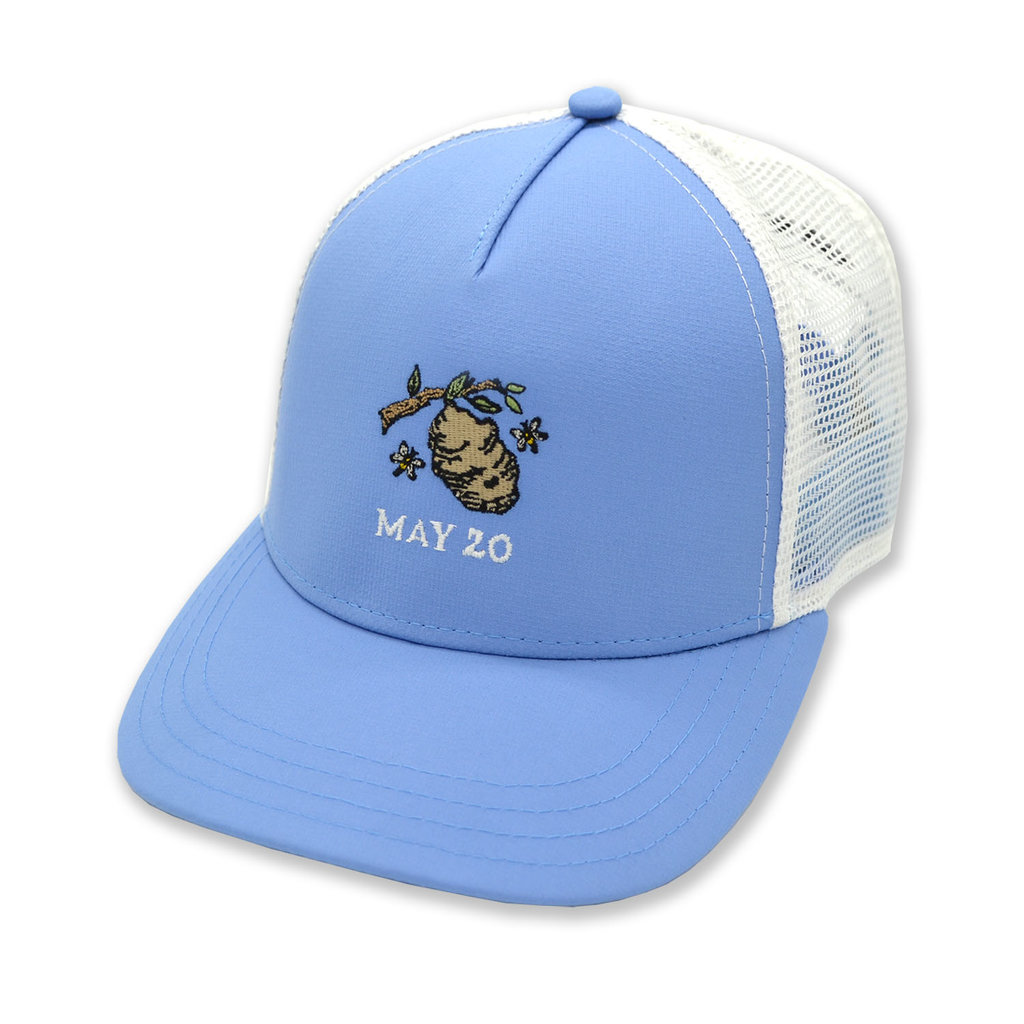 The Sporting Gent Hornets Nest Trucker - Carolina/White
