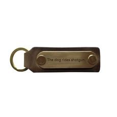 The Sporting Gent TSG The Dog Rides Shotgun Key Fob