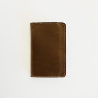 Clayton & Crume Clayton & Crume Brown Leather Passport Holder