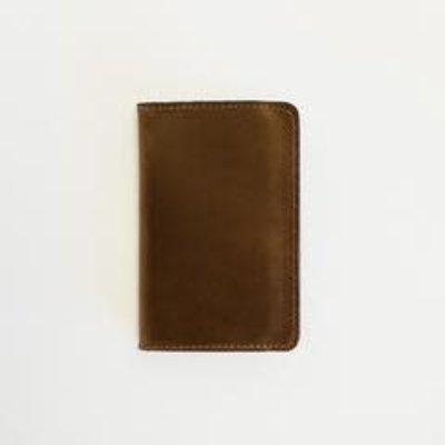 Clayton & Crume Clayton & Crume Brown Leather Passport Holder