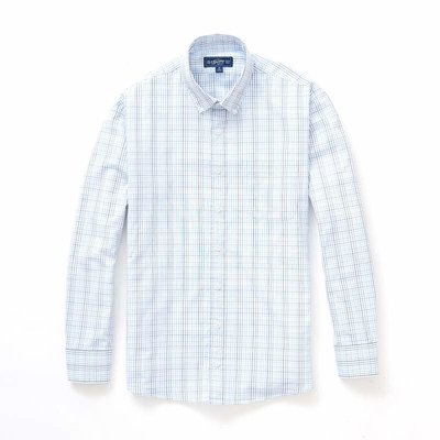 The Sporting Gent TSG Button Down Shirt - Carolina & Grey