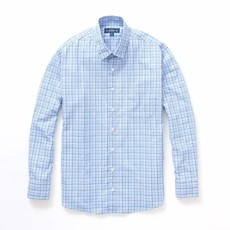 The Sporting Gent TSG Button Down - Steel Blue & Royal