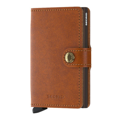 Secrid Secrid Miniwallet Original Cognac-Brown