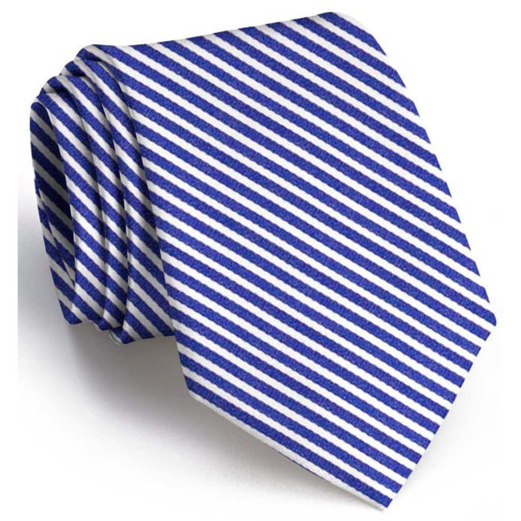 Bird Dog Bay Bird Dog Bay Chapman Stripe Necktie - Navy