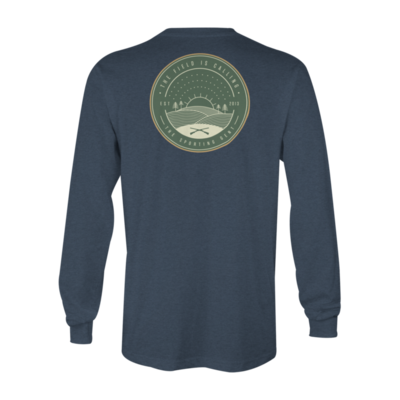 The Sporting Gent The Field is Calling Long Sleeve Tee