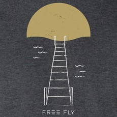 Free Fly Free Fly Apparel Golden Hour Tee - Heather Charcoal