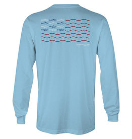 The Sporting Gent Fly Flag Long Sleeve Tee