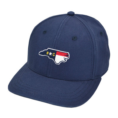 The Sporting Gent Old North State Hat - Navy