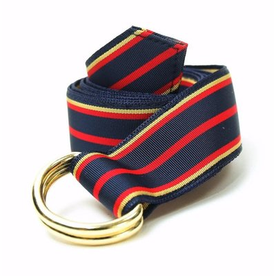 F.H. Wadsworth FH Wadsworth Ribbon Belt - St. Bernard