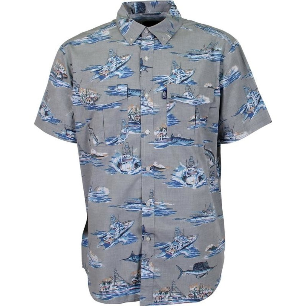 AFTCO AFTCO Boatbar Tech Short Sleeve Shirt