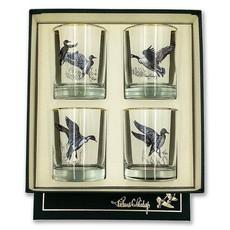 Richard E. Bishop Ltd. Richard E. Bishop Double Old Fashioned Set - Waterfowl