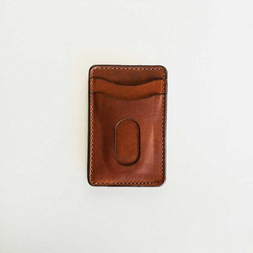 Clayton & Crume Clayton & Crume Money Clip - Dublin Brown