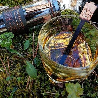 Whiskey Wood Whiskey Wood Whiskey Stirrer