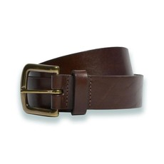 The Sporting Gent TSG Harness Leather Belt (Brown/Antique Brass)