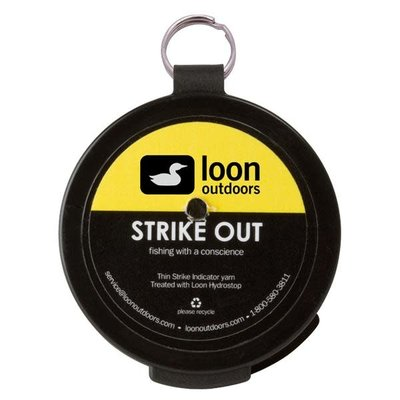 Loon Outdoors Loon Outdoors Strike Out Strike Indicator Yarn - White