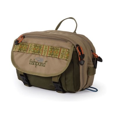 Fishpond Fishpond Blue River Chest/Lumbar Pack -  Khaki/Sage Green