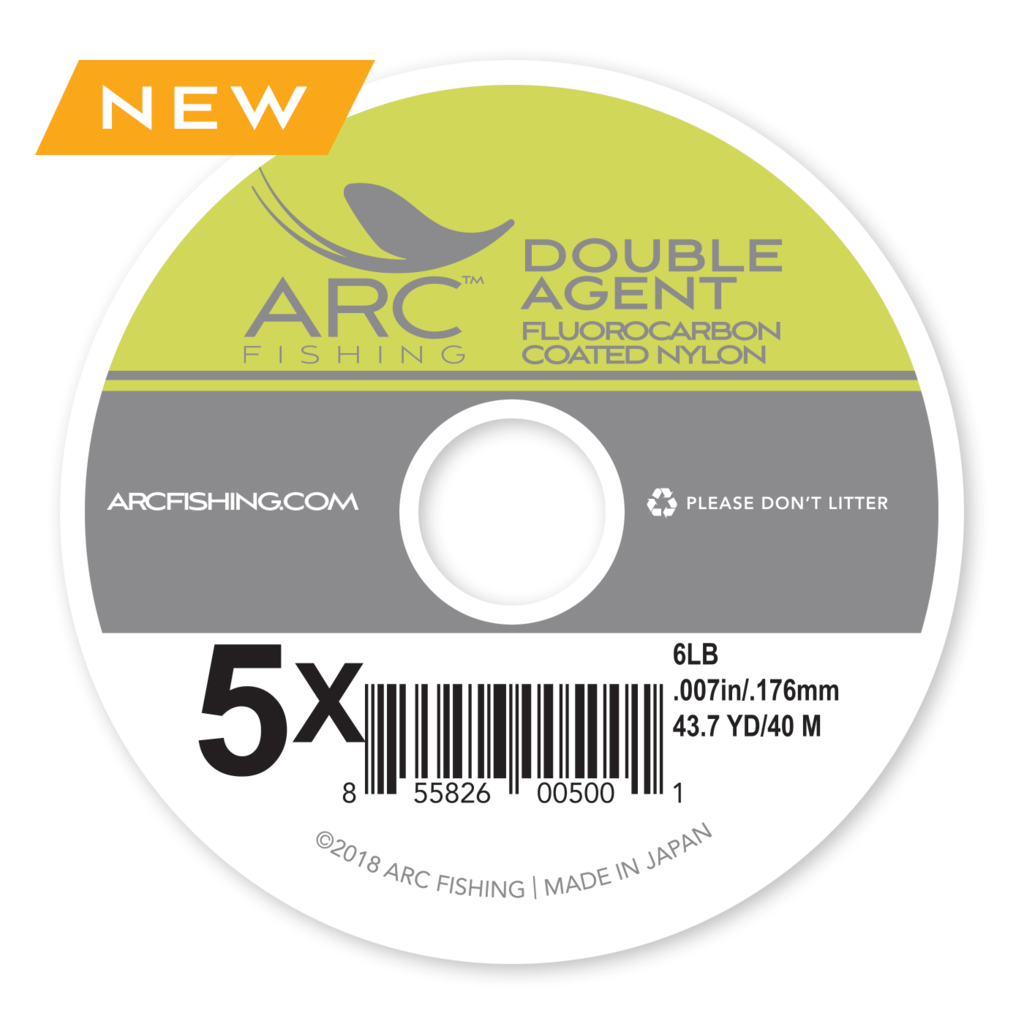 ARC Fishing ARC Fishing Double Agent Fluorocoat Tippet 6X