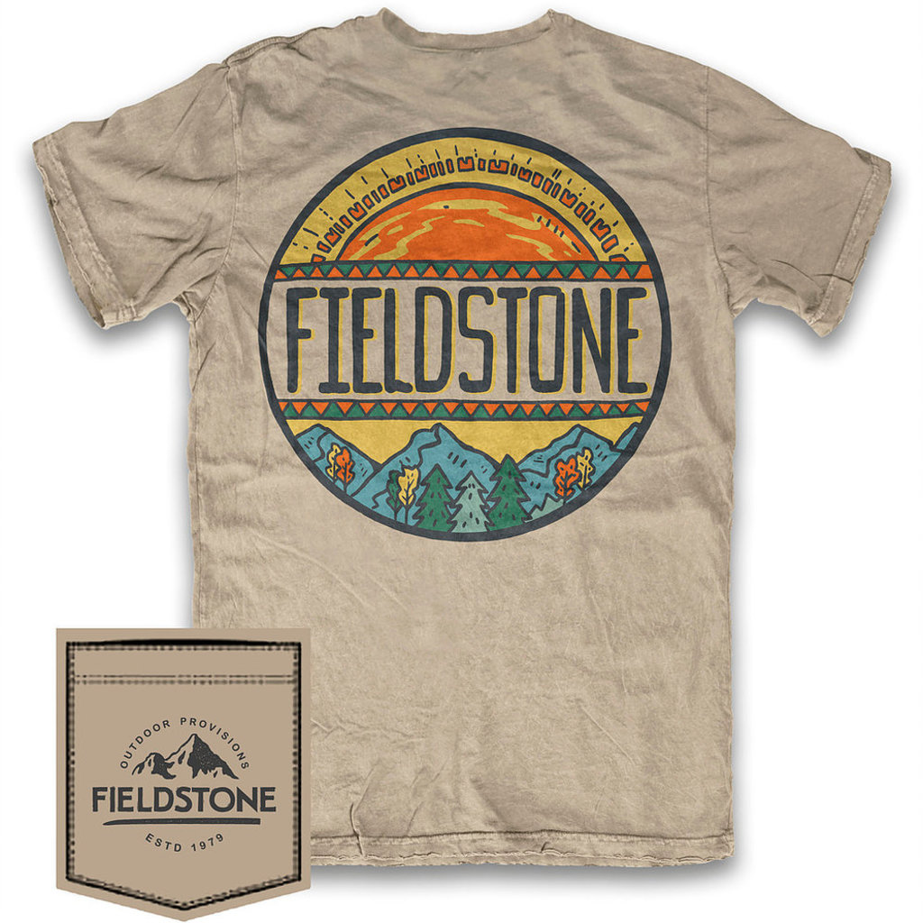 Fieldstone Outdoor Provisions Co. Fieldstone Sunset Short Sleeve Tee
