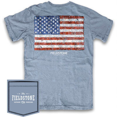 Fieldstone Outdoor Provisions Co. Fieldstone American Pride Short Sleeve Tee