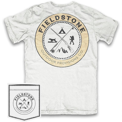 Fieldstone Outdoor Provisions Co. Fieldstone Outdoors Crest Short Sleeve Tee
