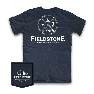 Fieldstone Outdoor Provisions Co. Fieldstone Outdoors Logo Short Sleeve Tee