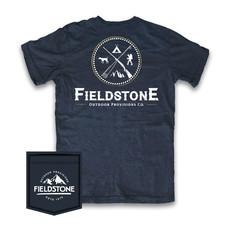Fieldstone Outdoor Provisions Co. Fieldstone Outdoors Logo Short Sleeve Tee