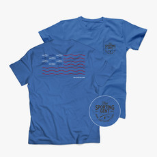 The Sporting Gent TSG Fly Flag Short Sleeve Tee