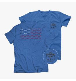 The Sporting Gent TSG Fly Flag Short Sleeve Tee