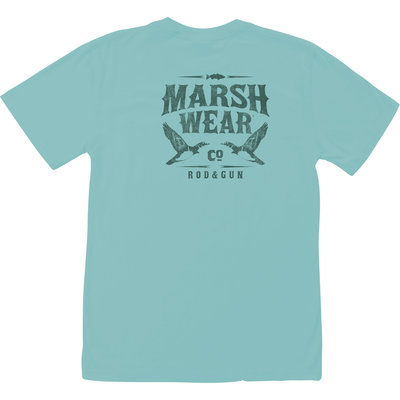 Marsh Wear Marsh Wear Shadow Short Sleeve Tee