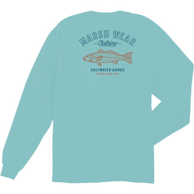 Marsh Wear Marsh Wear Saltwater Goods Long Sleeve Tee