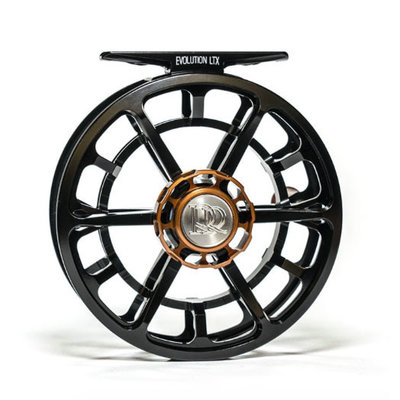 Hardy Fishing Ross Reels Evolution LTX - 4/5 Reel - Black