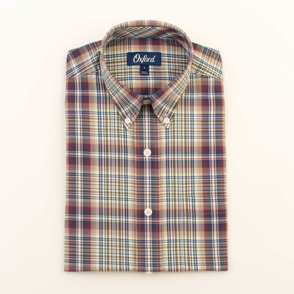 Oxford Clothing Co. Oxford Co. Howell Plaid Button Down