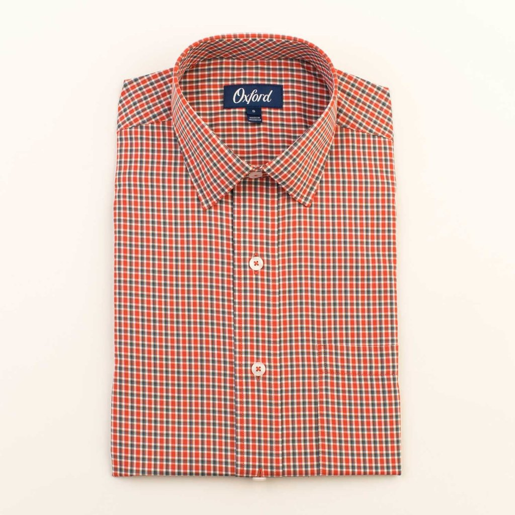 Oxford Clothing Co. Oxford Co. Morris Spread Collar Shirt