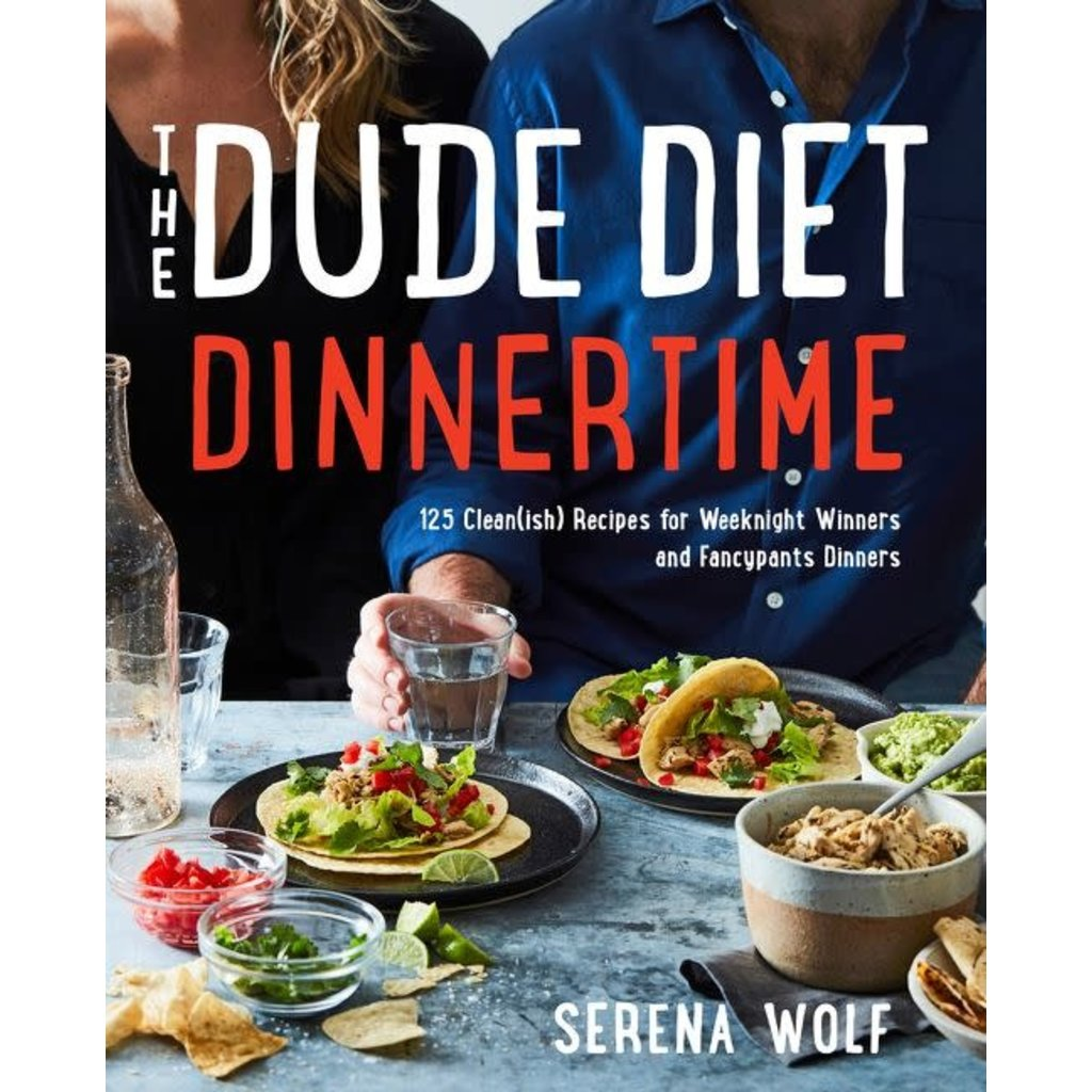 HarperCollins The Dude Diet: Dinnertime by Serena Wolf
