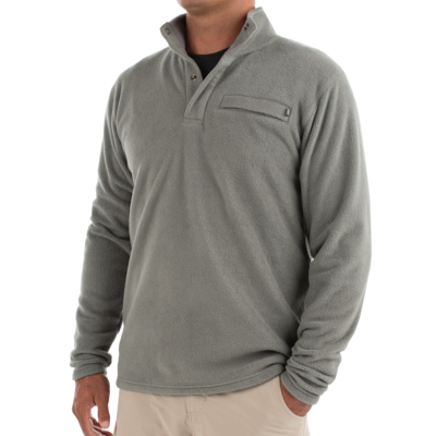 Free Fly Free Fly Bamboo Polar Fleece Snap Pullover