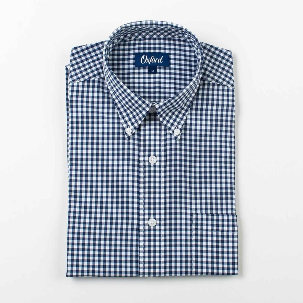 Oxford Clothing Co. Oxford Co. Howell Gingham Button Down