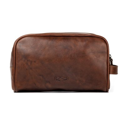 Mission Mercantile Mission Mercantile Benjamin Leather Wash Bag